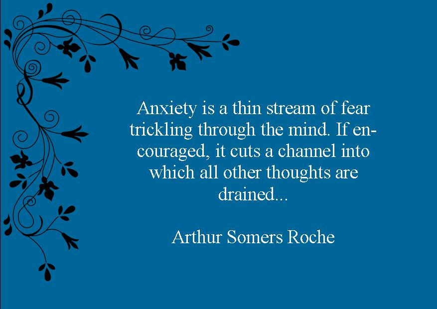 anxiety is a thin